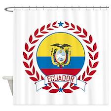 Ecuador Wreath Shower Curtain