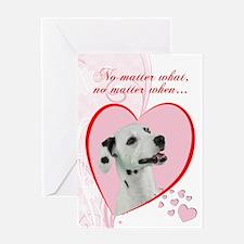 Dalmatian Valentine's Card