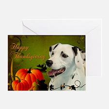 Dalmatian Thanksgiving Card