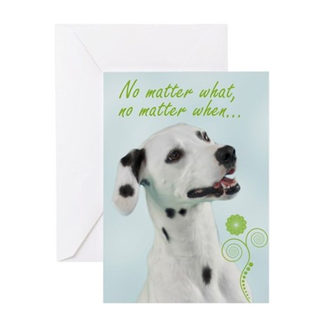 Dalmatian Love/Support Card