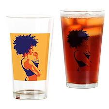 Unique Nappy Drinking Glass
