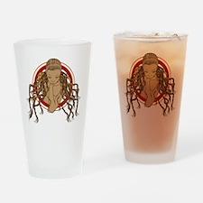 Dreadlock Girl Drinking Glass