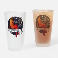Lady Luck Drinking Glass