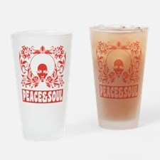 Peace and Soul Drinking Glass