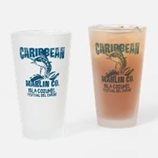 Caribbean Marlin Co. Drinking Glass