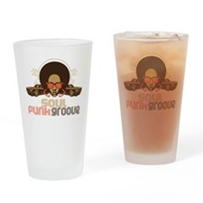 Soul Funk Groove Drinking Glass