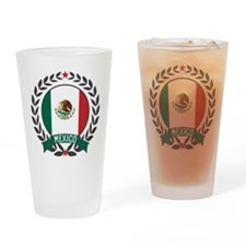 Mexico Wreath Drinking Glass