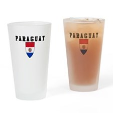 Cute Paraguay soccer Drinking Glass
