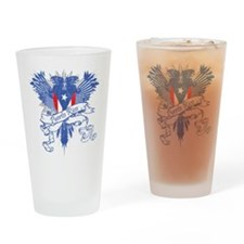 Puerto Rico Winged Drinking Glass