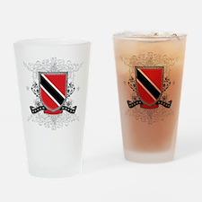 Trinidad and Tobago Shield Drinking Glass