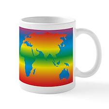world rainbow 1: Small Mug