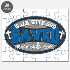 Walk With God(Blue) Puzzle