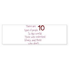 Cute Math Bumper Sticker