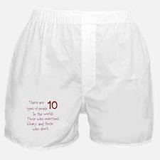 Cute Binary Boxer Shorts