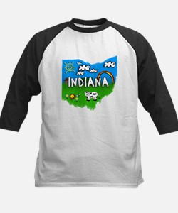 Indiana, Ohio. Kid Themed Tee