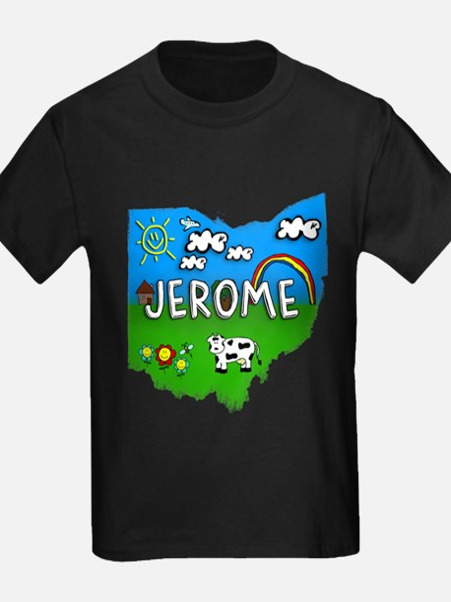 Jerome, Ohio. Kid Themed T