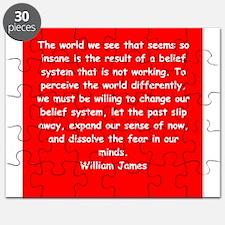 william james Puzzle