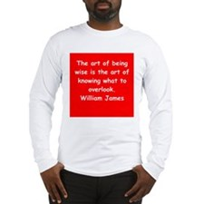 william james Long Sleeve T-Shirt
