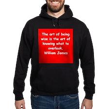 william james Hoodie