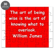 william james Puzzle