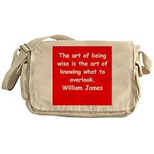 william james Messenger Bag