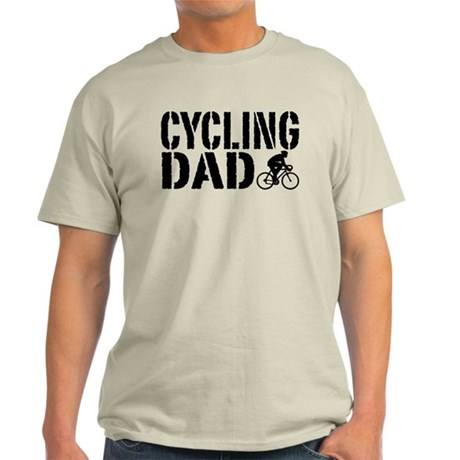 Cycling Dad Light T-Shirt