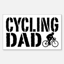 Cycling Dad Decal