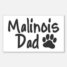 Malinois DAD Decal