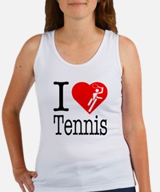 I Love Tennis Women's Tank Top