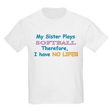 My-Sister-Plays-Softball T-Shirt