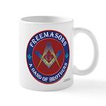Band Of Brothers Masonic Mug Mugs