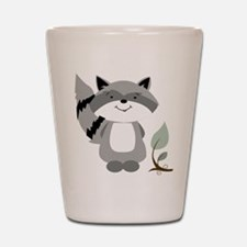 Raccoon Shot Glass
