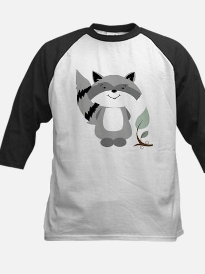 Raccoon Kids Baseball Jersey