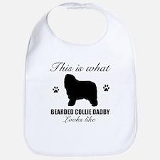 Bearded Collie daddy Bib