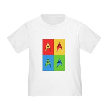 Pop Art Trek Toddler T-Shirt