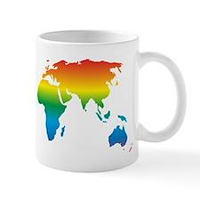 world rainbow 2: Small Mug