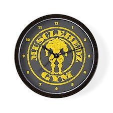 MUSCLEHEDZ GYM - Wall Clock