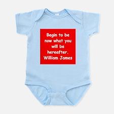william james Infant Bodysuit