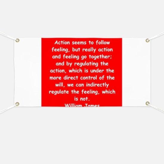 william james Banner