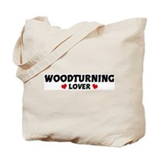 WOODTURNING Lover Tote Bag