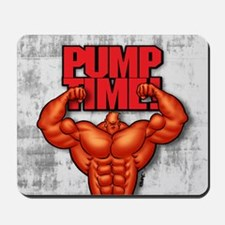PUMP TIME! - Mousepad
