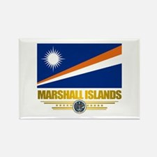 """Marshall Islands Flag"" Rectangle Magnet"