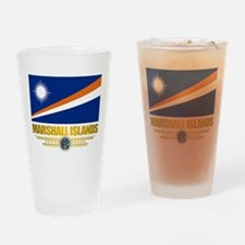 """Marshall Islands Flag"" Drinking Glass"