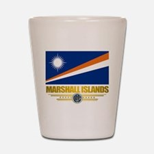 """Marshall Islands Flag"" Shot Glass"