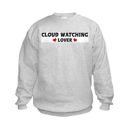 CLOUD WATCHING Lover Kids Sweatshirt