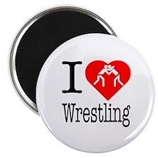 "I Love Wrestling 2.25"" Magnet (10 pack)"