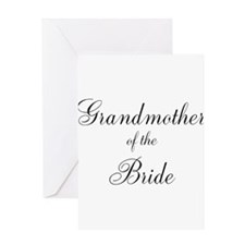 Grandmother of the Bride Greeting Card