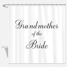 Grandmother of the Bride Shower Curtain