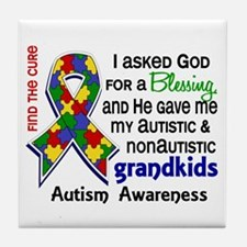 Blessing 4 Autism Tile Coaster