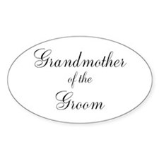 Grandmother of the Groom Decal